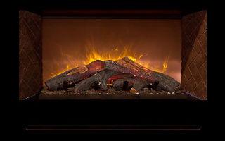 Камин электрический с эффектом живого пламени