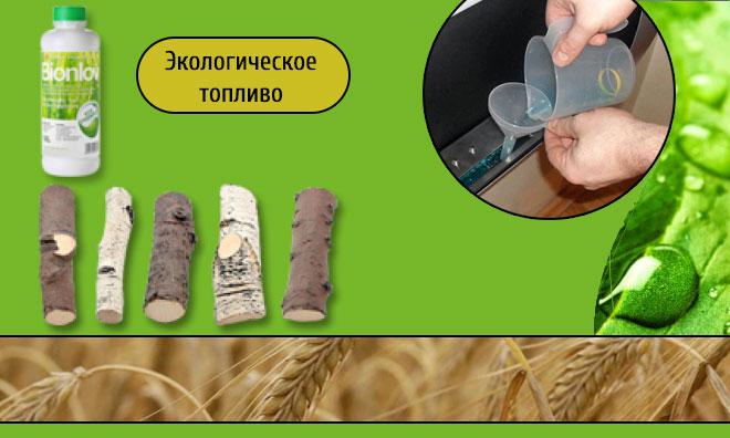 Экологическое биотопливо