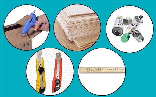 Необходимы материалы для камина из пенопласта