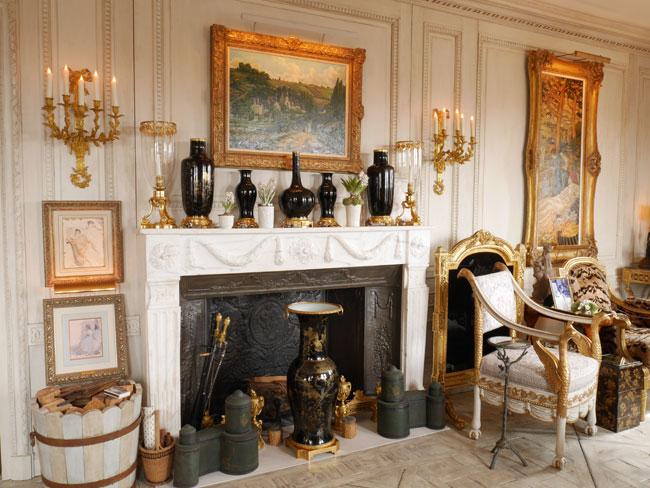 Украшение интерьера вазами
